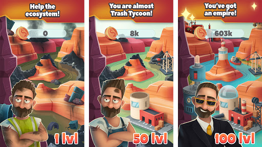 Trash Tycoon: idle clicker & simulator & business 0.1.3 screenshots 6