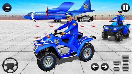 Grand Police Cargo Transport Truck:Car Parking Sim  screenshots 1
