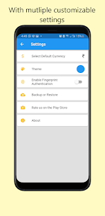 Personal Expense Logger Pro For Android 3
