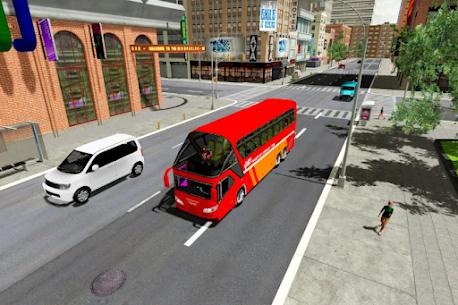 Coach Bus Simulator 2021  City Bus Driving Games Apk 4