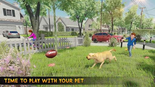 Family Pet Dog Home Adventure Game  screenshots 4