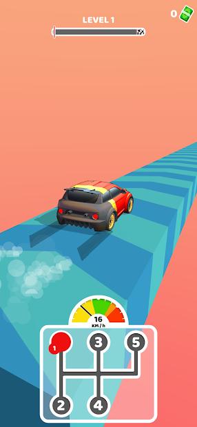 Gear Race 3D Android App Screenshot