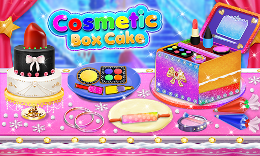 Cosmetic Box Cake and Cookie Maker Girls cooking 1.4 screenshots 1