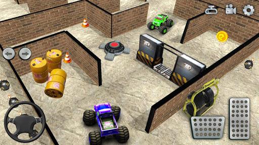 Monster Truck Maze Driving 2020: 3D RC Truck Games  screenshots 1