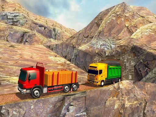 Uphill Gold Transporter Truck Drive apkdebit screenshots 7