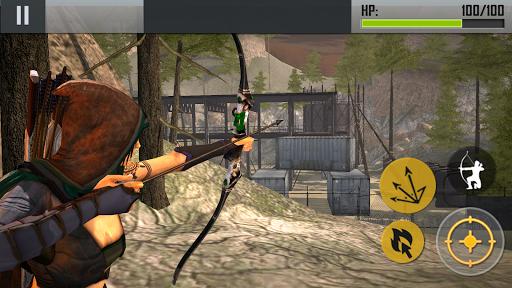 Ninja Archer Assassin FPS Shooter: 3D Offline Game 2.8 screenshots 8