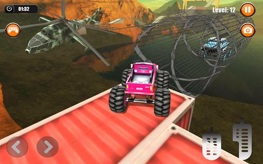 Ultimate Monster Truck: 3D Stunt Racing Simulator apkpoly screenshots 13
