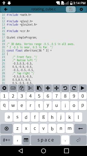 Mobile C [ C/C++ Compiler ] 2.5.2 Screenshots 2