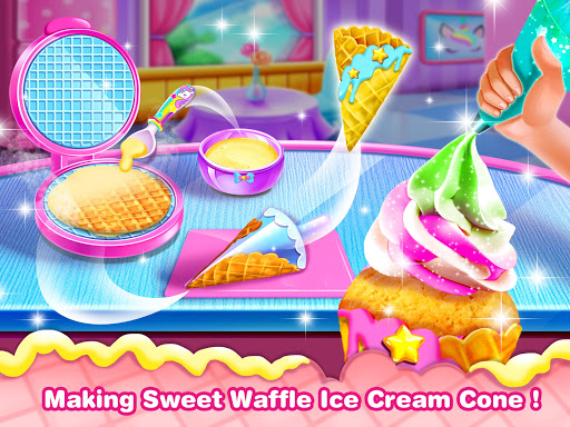 Ice Cream Cone Cupcake-Cupcake Mania 1.5 Screenshots 3