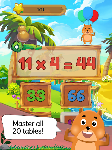 Times Tables: Mental Math Games for Kids Free  screenshots 11