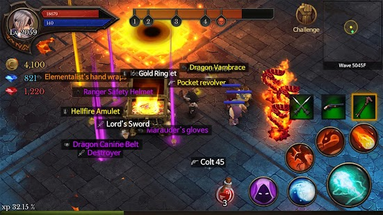 Dungeon Chronicle Screenshot