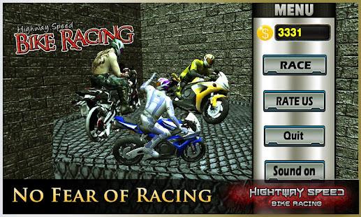 Highway Speed Motorbike Racer : Bike Racing Games 3.1 screenshots 1