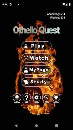 Othello Quest (former Reversi Wars) - live online  screenshots 1