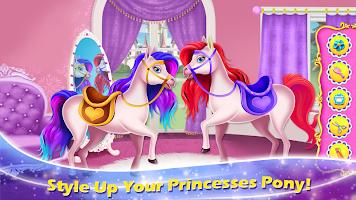 Princess Pony Horse Caring - Magical Beauty Salon