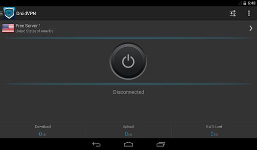 DroidVPN - Easy Android VPN 3.0.4.5 Screenshots 6
