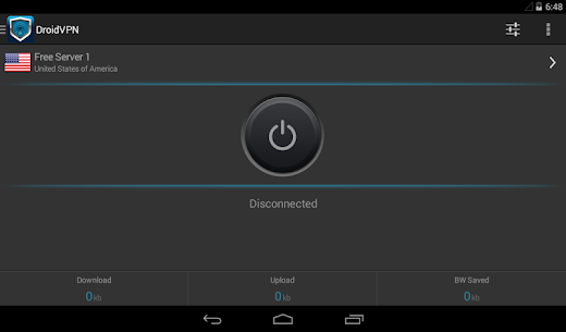 Download Droid VPN (Premium/Pro) Mod APK 3.0.5.0 for Android 6