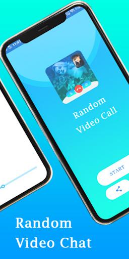Random video call with strangers