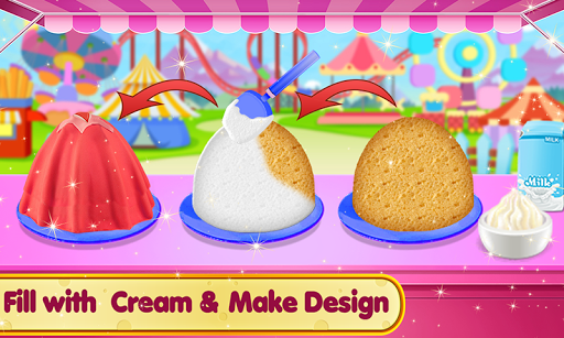Doll Ice Cream Cake Baking 2019: World Food Maker 1.0.05 screenshots 4