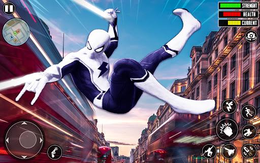 Spider Rope Hero 3D: Gangstar Vegas Crime apkslow screenshots 5