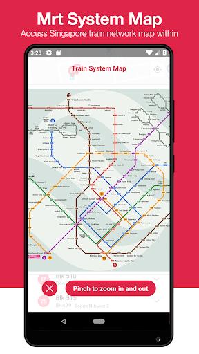 singabus - singapore bus timing + mrt app sg screenshot 2