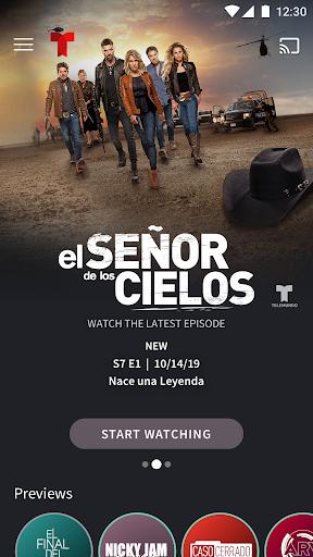 Telemundo: Series en Espau00f1ol, TV en vivo apktram screenshots 1