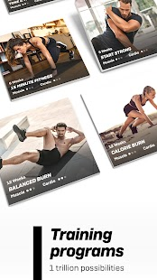 Freeletics Training Coach - Bodyweight Fitness Screenshot