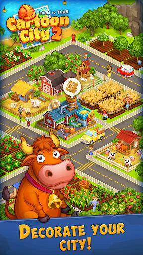 Cartoon City 2:Farm to Town.Build your home,house modavailable screenshots 23
