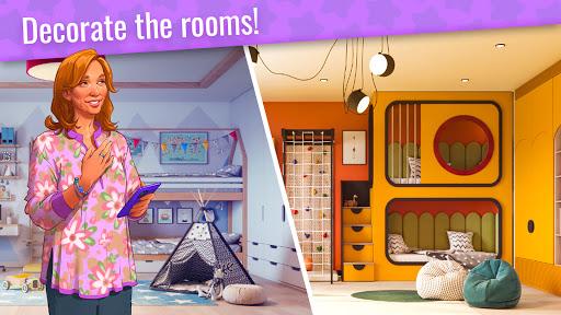 Design Stories: Match-3 Game & Room Decoration  screenshots 2