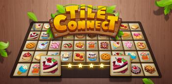 Jugar a Tile Connect - Free Tile Puzzle & Match Brain Game gratis en la PC, así es como funciona!
