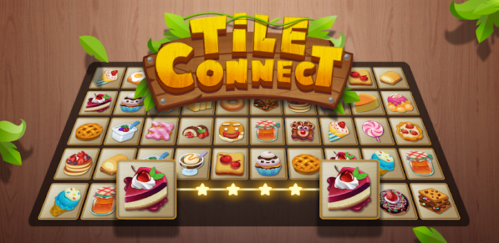 Tile Connect - Free Tile Puzzle & Match Brain Game