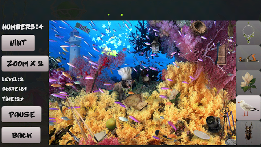 Sea bottom. Hidden Objects For PC Windows (7, 8, 10, 10X) & Mac Computer Image Number- 7
