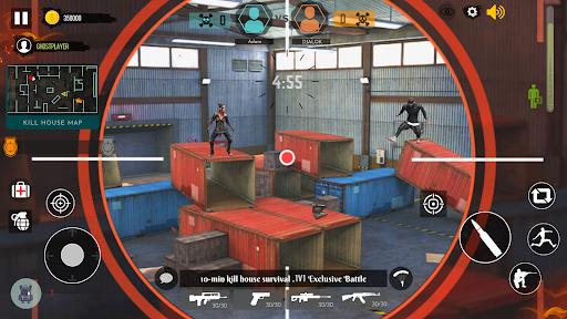 Alone Shooter : 1v1 Offline Clash Squad 2021 Apkfinish screenshots 2