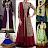 Fancy Anarkali Kurti Dresses Salwar neck Designs