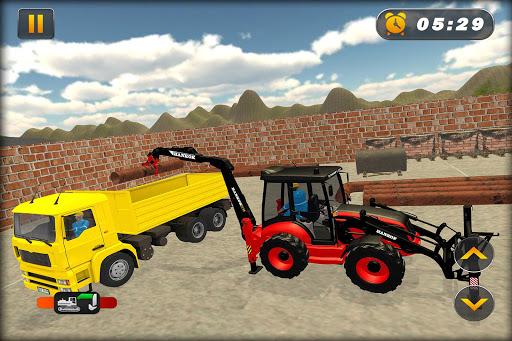 Heavy Excavator Crane Simulator Construction Games apkdebit screenshots 2