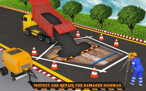 Highway Construction Road Builder 2020- Free Games 2.0 screenshots 5
