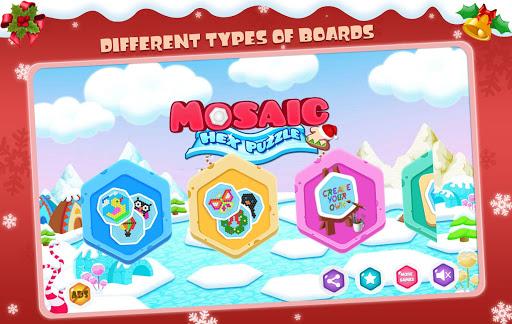 Mosaic Hex Puzzle 2: Hexagon Photo Match 3.4 screenshots 1