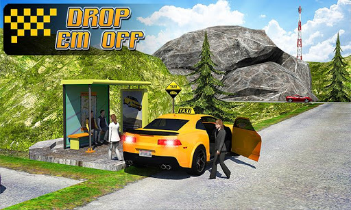 Taxi Driver 3D : Hill Station  screenshots 4