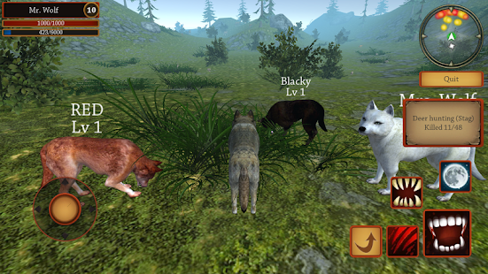 Wolf Simulator Evolution Mod Apk