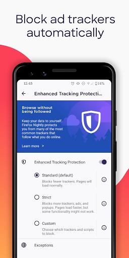 Firefox Browser: fast, private & safe web browser apktram screenshots 7