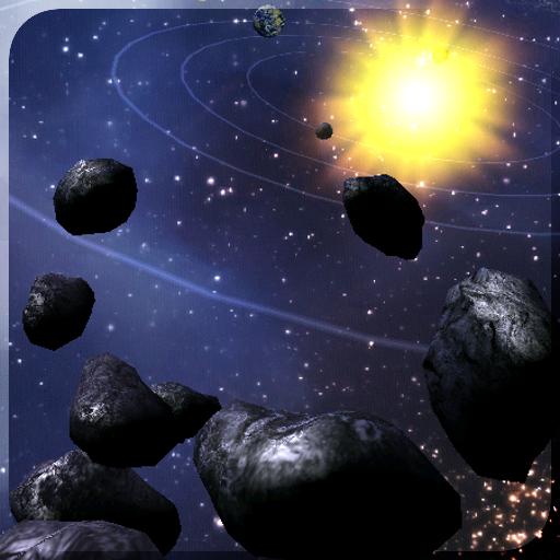 Asteroid Belt Free L Wallpaper