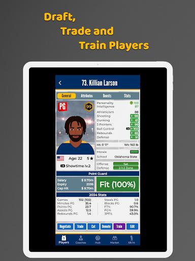 Ultimate Basketball General Manager - Sport Sim 1.2.1 screenshots 5