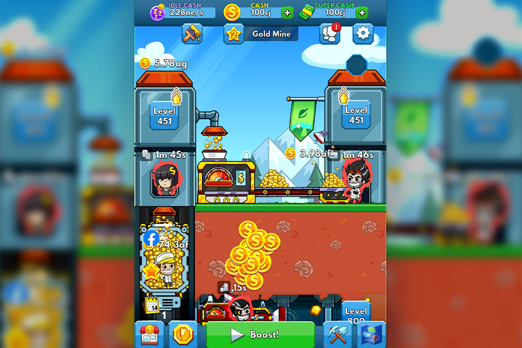 Idle Miner Tycoon: Gold & Cash Game MOD poster 21