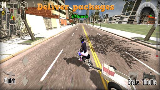 Wheelie King 4 - Online Wheelie Challenge 3D Game  screenshots 1