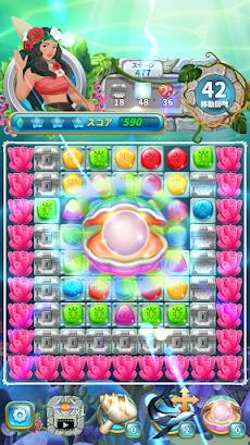 Jewel Aloha- Ocean Match 3 Puzzleのおすすめ画像2