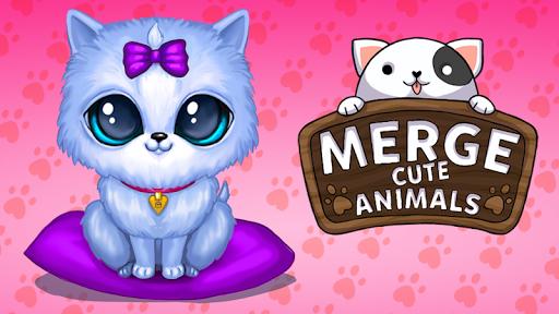 Télécharger Gratuit Merge Cute Animals: Chat et Chien mod apk screenshots 1
