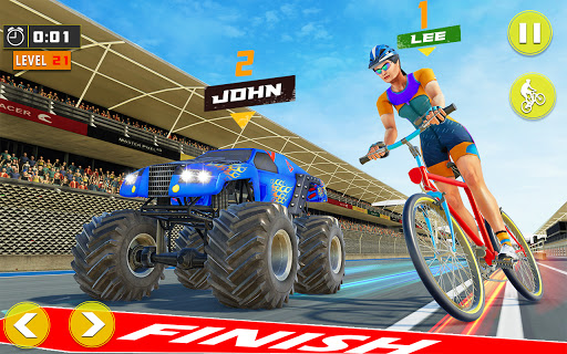 BMX Bicycle Rider - PvP Race: Cycle racing games 1.0.9 screenshots 4