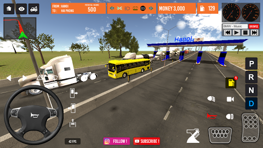 Vietnam Bus Simulator 2.2 screenshots 5