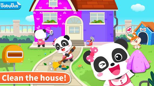 Baby Panda' s House Cleaning 8.57.00.00 screenshots 1