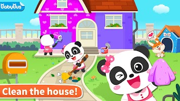 Baby Panda' s House Cleaning