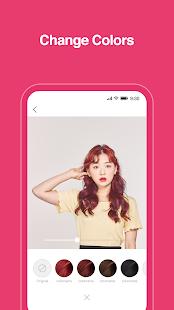 Hairfit - k-pop hairstyle simulator 1.0.17 Screenshots 3